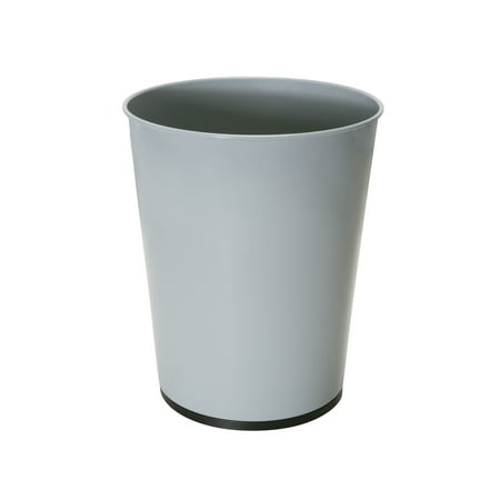 Bath Bliss 5L Waste Bin - Grey Open Top