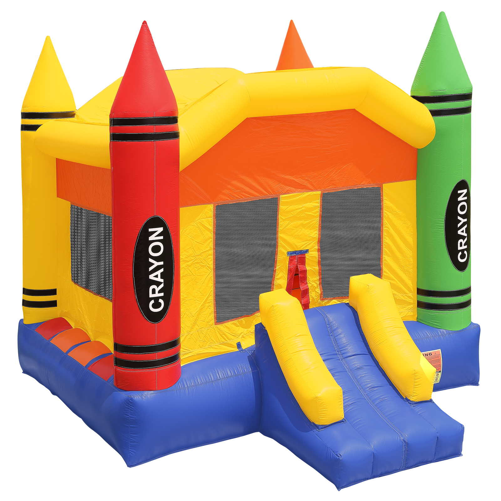 Inflatable HQ Commercial Grade Crayon Bounce House 100% P...