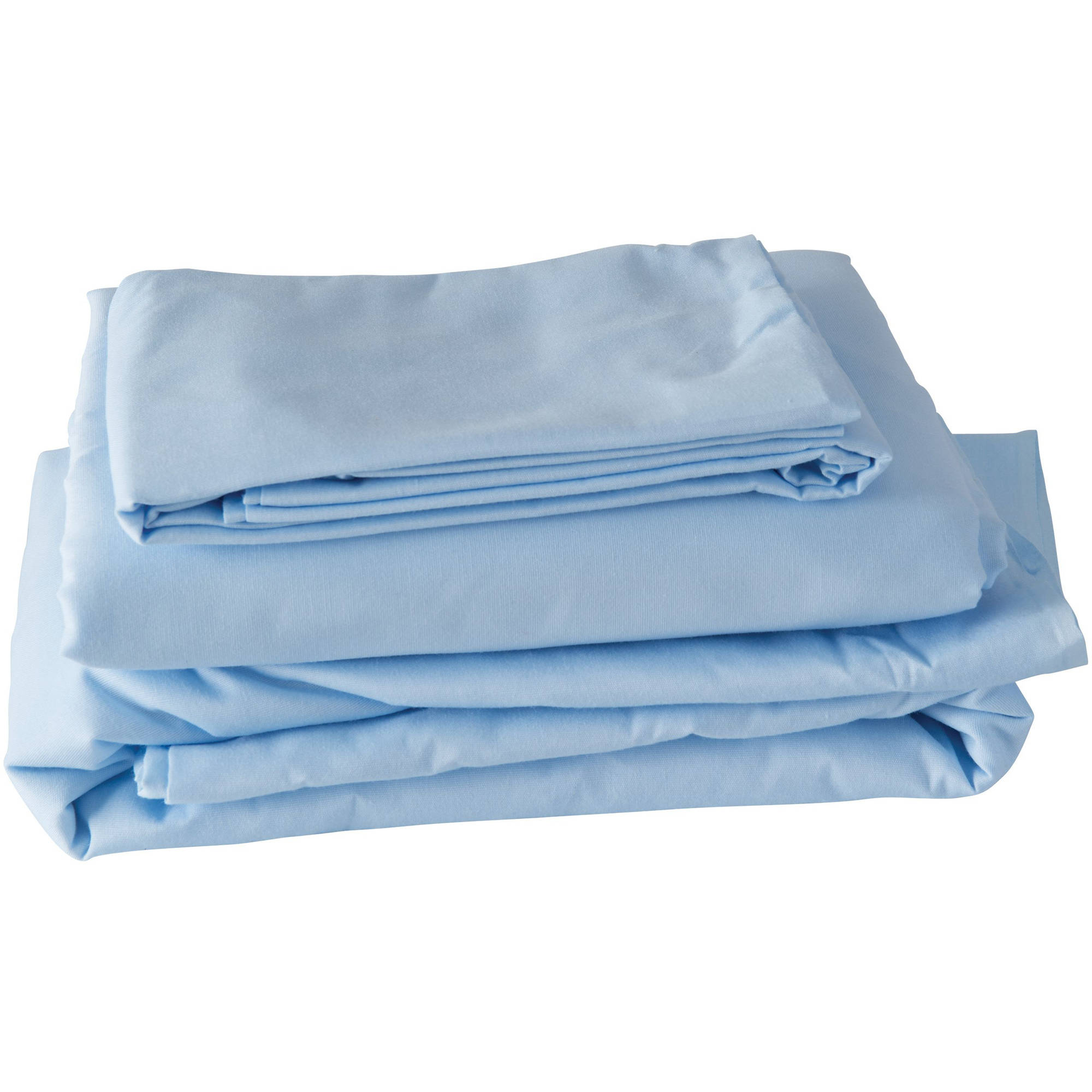 Sheet,Twin,80inL,Bl,Fitted and Flat DMI 554-7070-0156