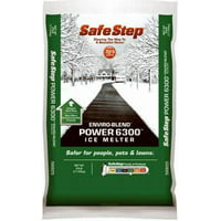 Safe Step Ice Melter Bag Melts Ice Down To - 10 F / - 23 C 25 Lbs.