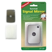 1 X Signal Mirror Multifunctional Survival Emergency Rescue Outdoor Camping Tool