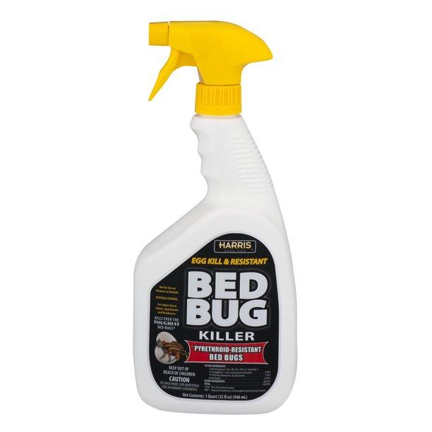 Harris Toughest Bed Bug Spray Killer 32 Oz Walmart Com Walmart Com