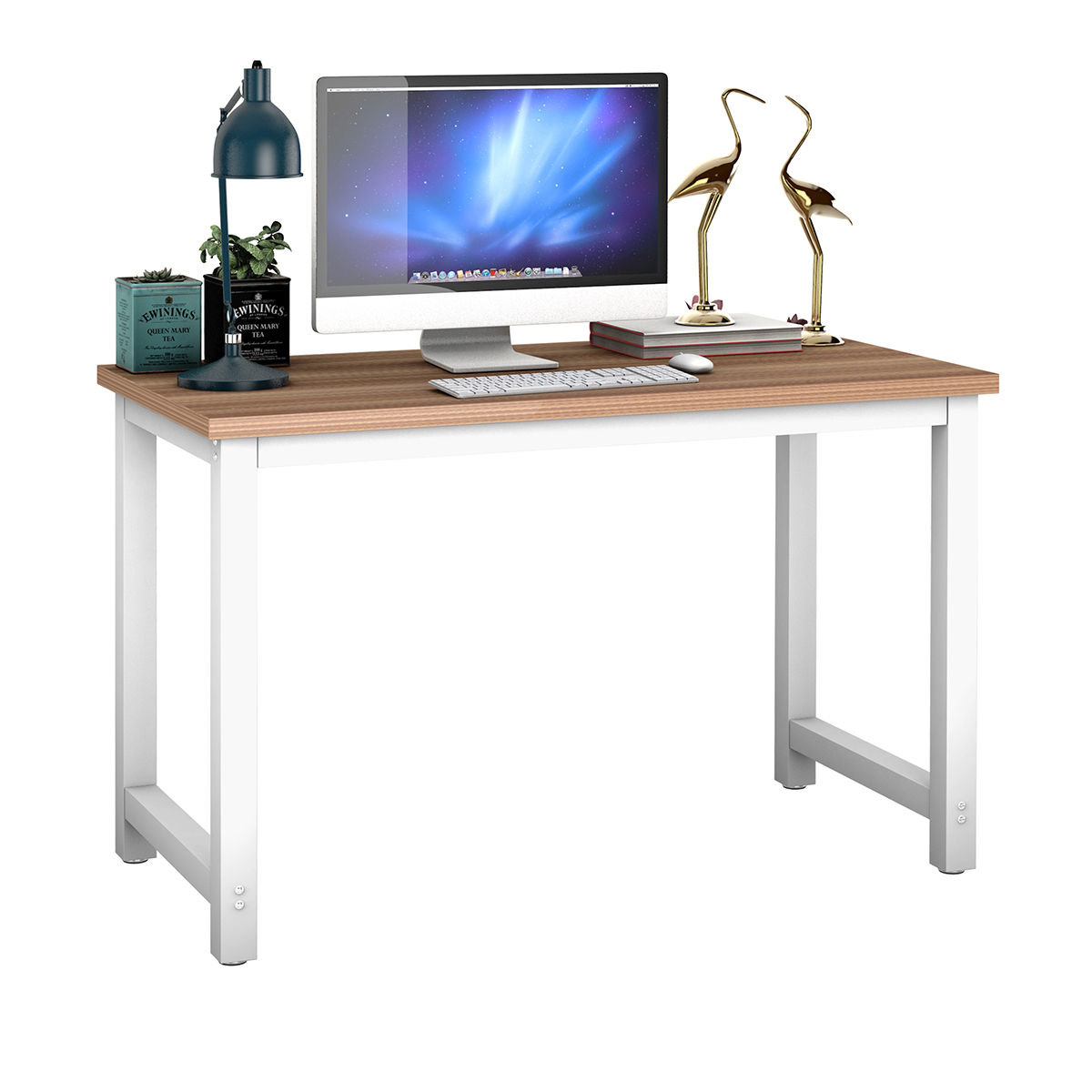 Wood Computer Desk PC Laptop Table Study Home Office Furniture Workstation
