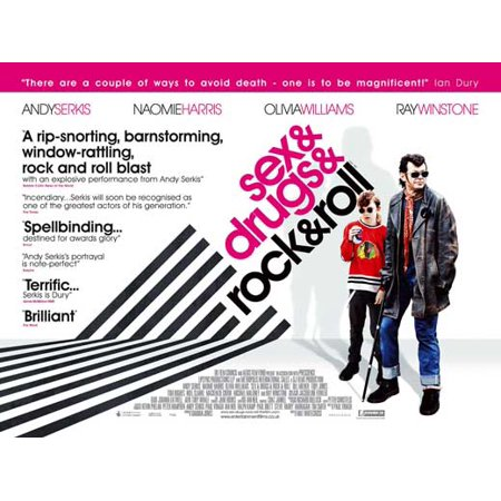 Sex & Drugs & Rock & Roll POSTER Movie UK A (30x40)