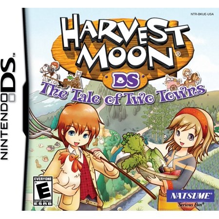 Harvest Moon: Tale of Two Towns - Nintendo DS, Choose to play as a boy or as a girl! By (Harvest Moon Friends Of Mineral Town Codebreaker)