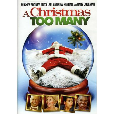 A Christmas Too Many (DVD)