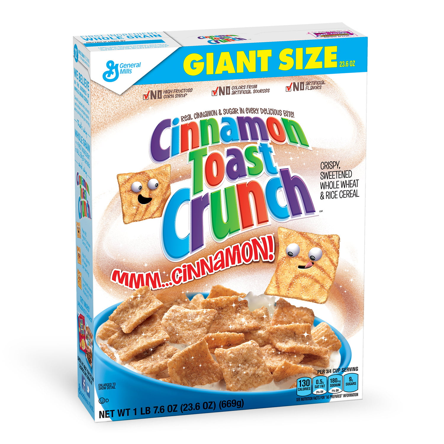 Cinnamon Cereal Crunch Toast 23.6 Oz Box