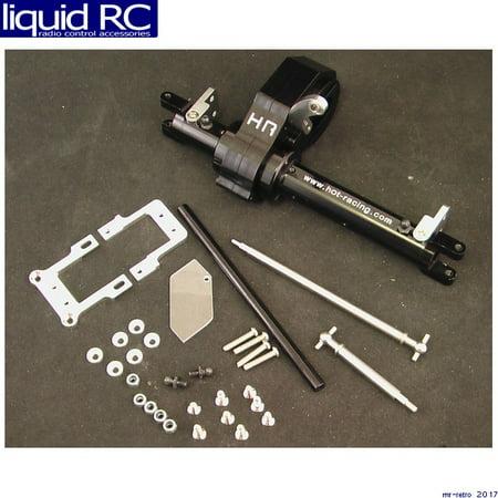 Hot Racing SCP12LC01 On Board Power Steering Axle Kit (Black) - (Hot Bodies Steering)