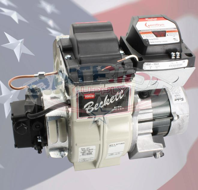 Beckett B2007 AFG Oil Burner Chasis Only With Genisys 7505B-1500 Control And CleanCut Oil Pump by Beckett