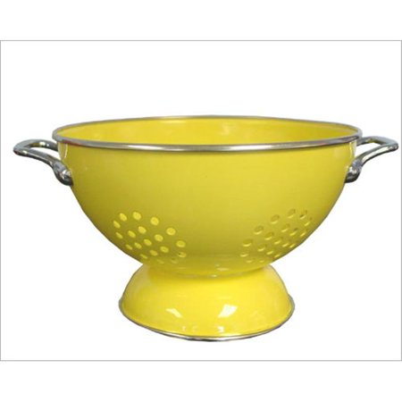 Powder Coated Colander - Reston Lloyd Lemon - 5 Qt Colander- Powder Coated