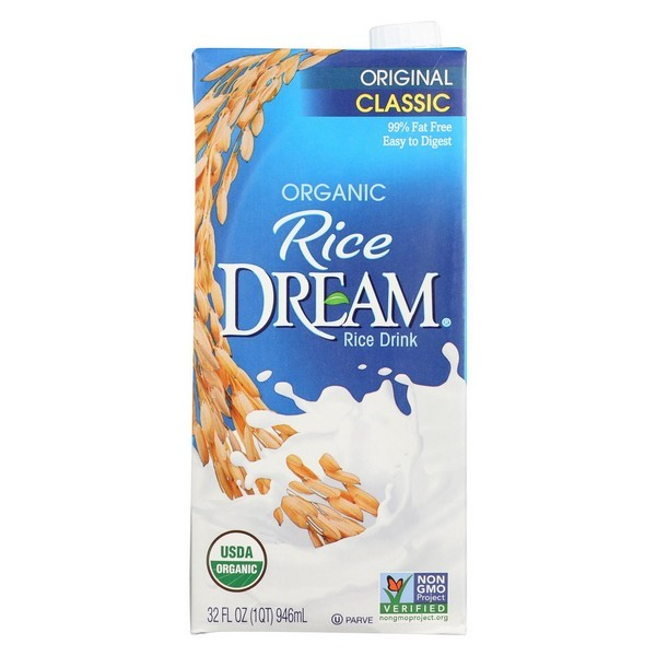 Rice Dream Organic Rice Dream - Original - pack of 12 - 32 Fl Oz.