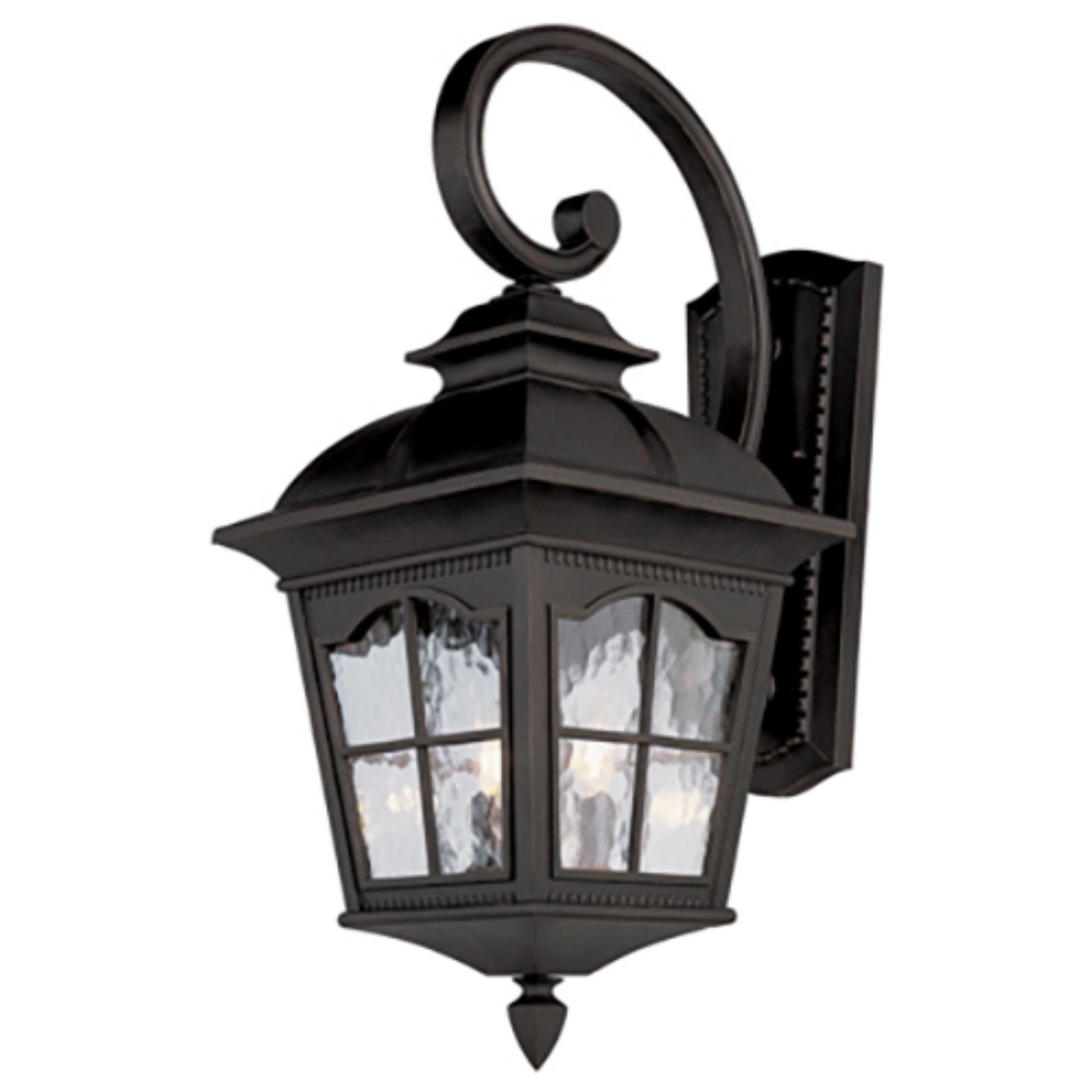 Trans Globe Lighting Briarwood 5429 BK Outdoor Wall Lantern