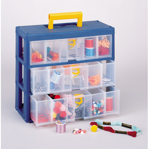 Quantum Storage 3-Drawer Small Parts Organizer