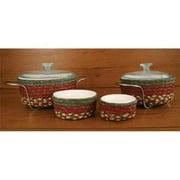Capitol Importing 36-CB300 Honey-Vanilla-Ginger - Set of 4 Casserole Baskets