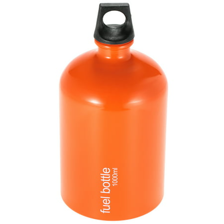 Portable Fuel Bottle Petroleum Gasoline Fuel Bottle Tank Fuel Can 1000ml(No Fuel)