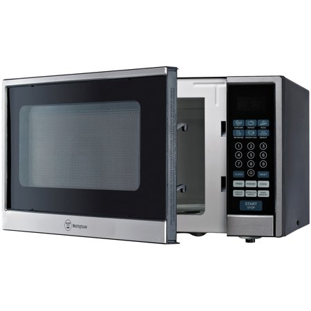 Countertop Microwave Walmart : ... cu ft 1000W Countertop Microwave, Black Stainless Steel - Walmart.com