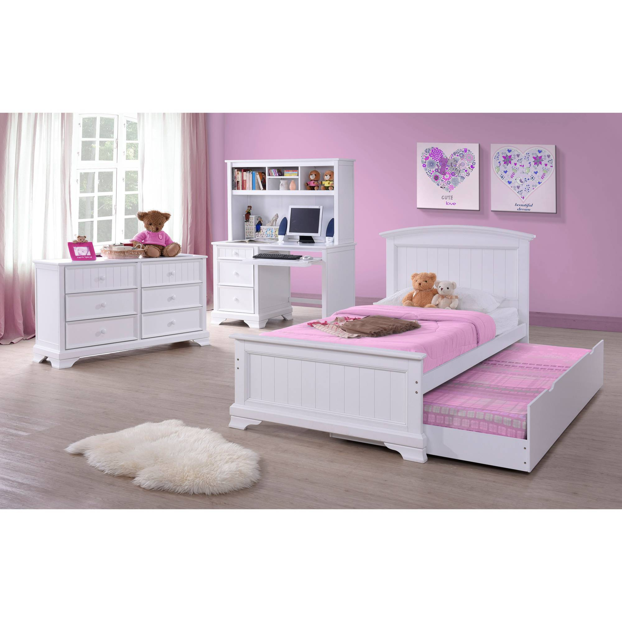 better homes and gardens kids sebring 6drawer dresser white walmartcom