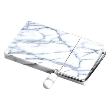 Creative Home White Marble 5 x 8 Cheese Slicer