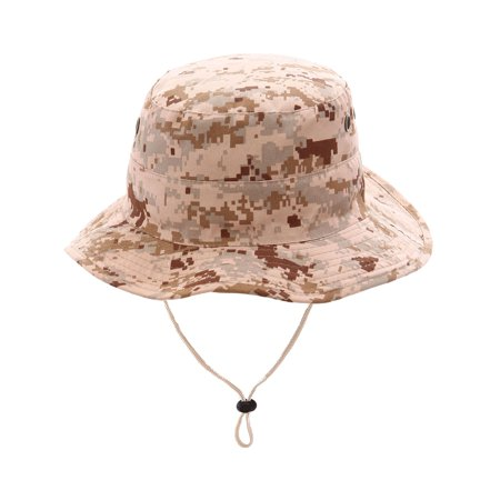 Top Headwear Safari Explorer Bucket Hat Outdoor Hunting Cap, Digital](Safari Hat Kids)