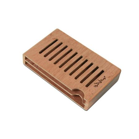 Cigar Caddy Boveda Holder (Pack of 2), 1.25 x 3.75 x 6, Spanish Cedar