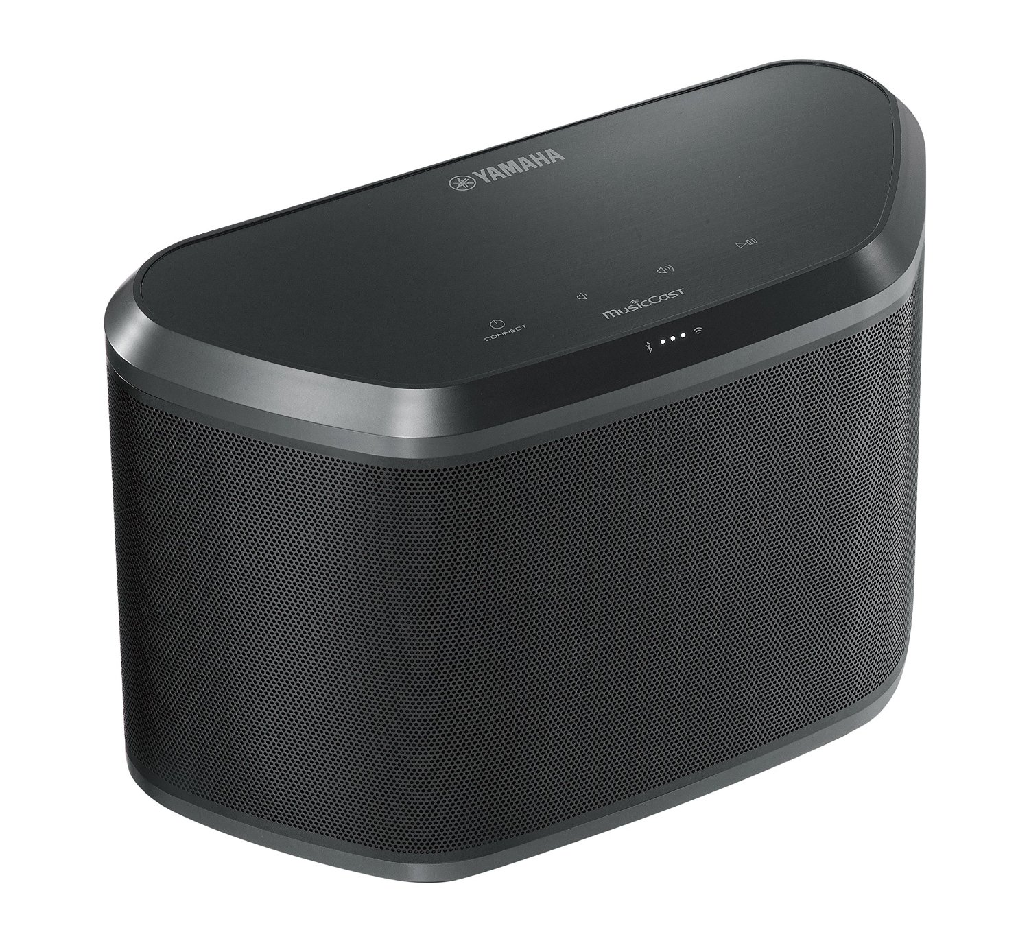 Yamaha WX-030BL MusicCast Wireless Speaker with Wi-Fi and Bluetooth (Black)