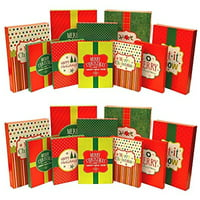 Assorted Christmas Gift Boxes, 20ct