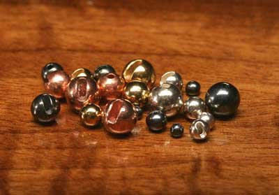 Tungsten Slotted Beads Mix Color 50pcs
