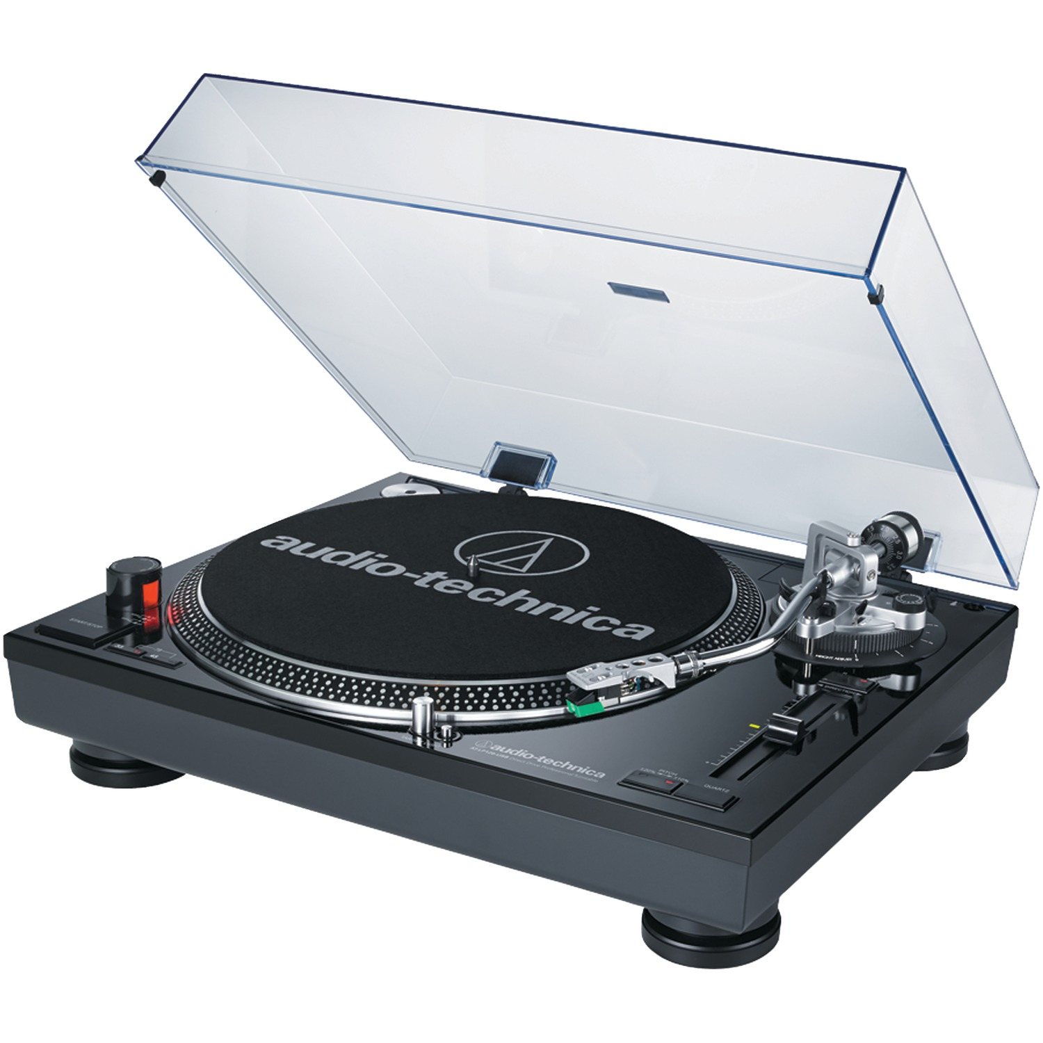 Audio-Technica AT-LP120BK-USB Direct-Drive Professional USB & Analog Stereo Turntable (Black)