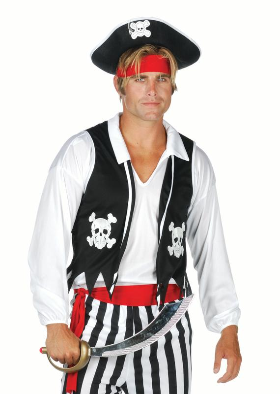 Adult Pirate Vest by RG Costumes