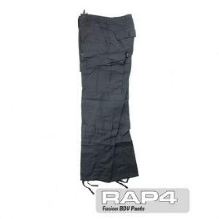 Black BDU Pants Large - paintball apparel