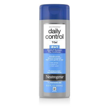 Neutrogena T/Gel 2-In-1 Dandruff Shampoo Plus Conditioner, 8.5 oz