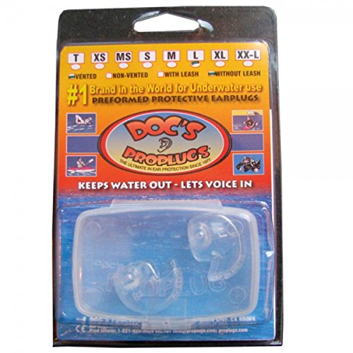 Doc's ProPlugs (pair) Clear - Sm/Med