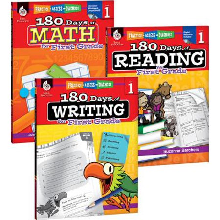5 Grade Math Games (180 Days of Reading, Writing, and Math for First Grade 3-Book)