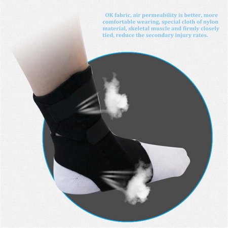 Ankle Sprain Brace Foot Support Bandage Orthosis Tendon Strap Guard Protector - image 5 of 9
