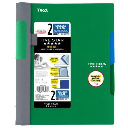 2bas Notebook - Five Star Advance Notebook- 9.5