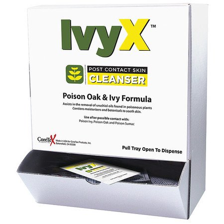 CoreTex Products - Poison Ivy and Oak Post Contact Skin Towelettes, (Best Lotion For Poison Oak)