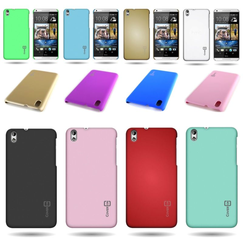 Protective Slim 1pc Hard Shell Back Bumper Phone Cover Case for HTC Desire 816