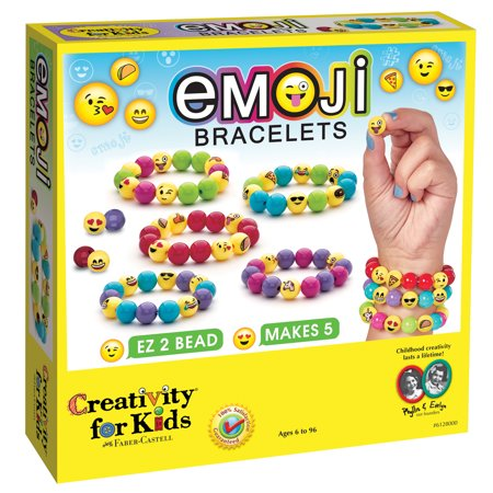 Emoji Bracelets - Craft Kit by Creativity for Kids](Summer Craft Ideas For Kids)
