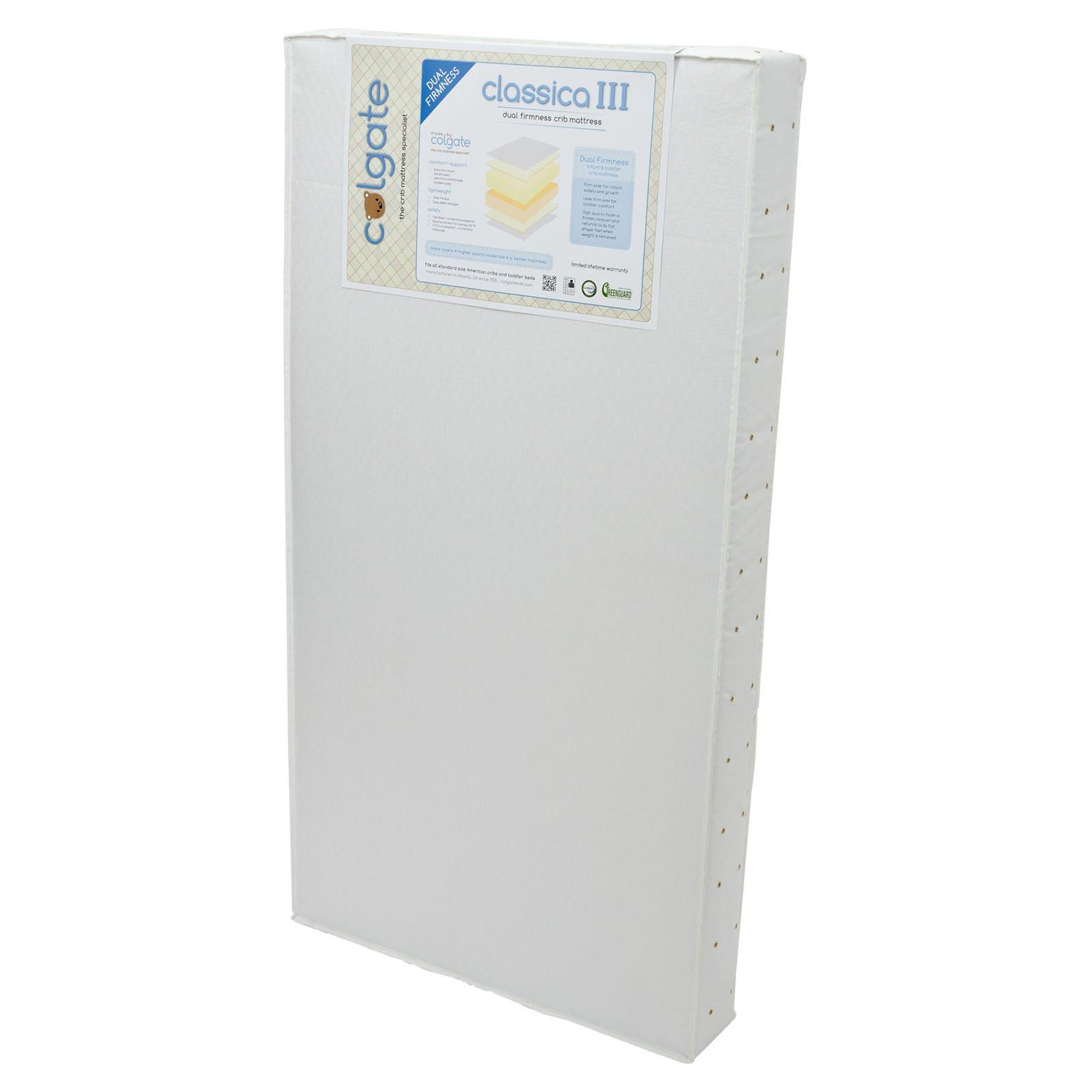Colgate Classica III Dual Firmness Foam Crib Mattress by Colgate