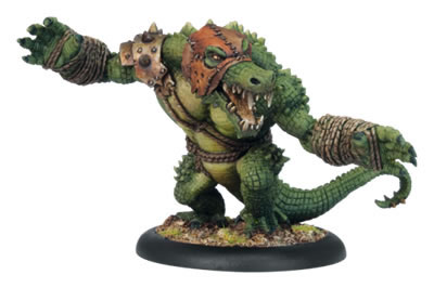 Blackhide Wrastler Warbeast Minions Hordes Miniature Game Privateer Press by Privateer Press Miniatures