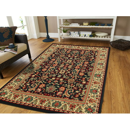 Black persian area rugs no tassels large 8x11 dining room for 7 x 9 dining room rugs