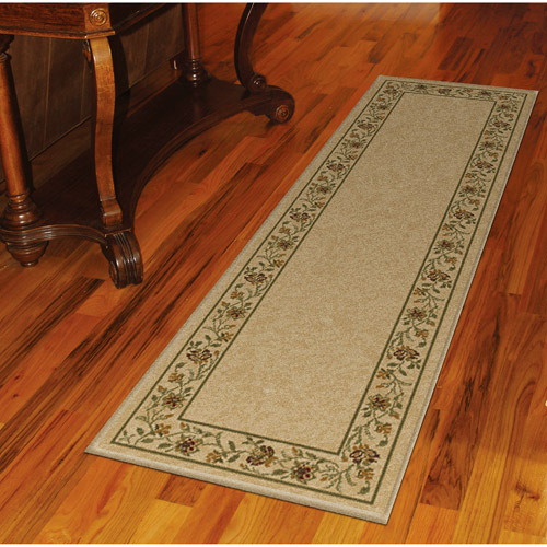 Orian Camille Parchment Runner Rug 23''x89''