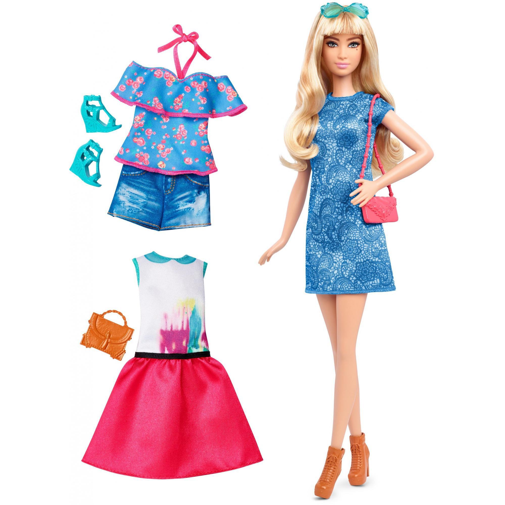 Barbie Lacey Blue Fashionista Gift Set by MATTEL INC.
