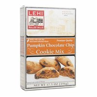 Halloween Pumpkin Shaped Cookies (Lehi Roller Mills, Cookie Mix, Pumpkin Chocolate Chip (Pack of)