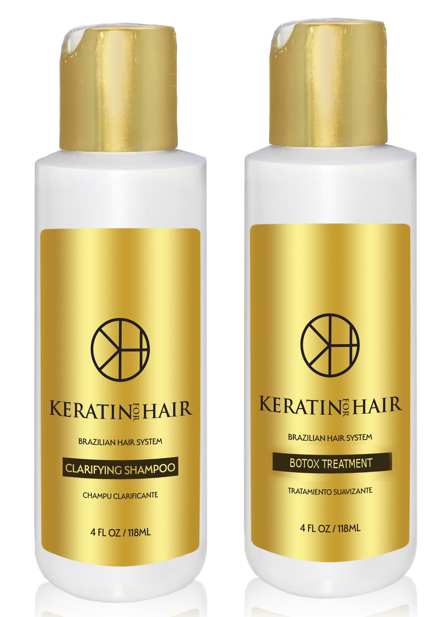 Keratin For Hair B O T O X Miracle Capilar Protein Keratin 4 Ounces 2 Piece Kit Hair Treatment Enhanced Formula For Blonde Thin Fragile Hair Straighten Smooths Moisturizer Walmart Com Walmart Com