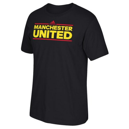 Manchester United Black Dassler T-Shirt