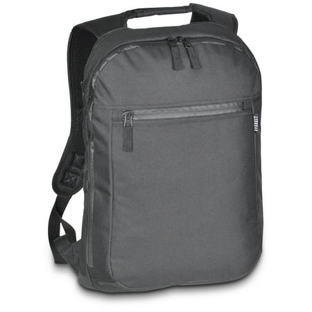 Everest Slim Laptop Backpack Black OSFA