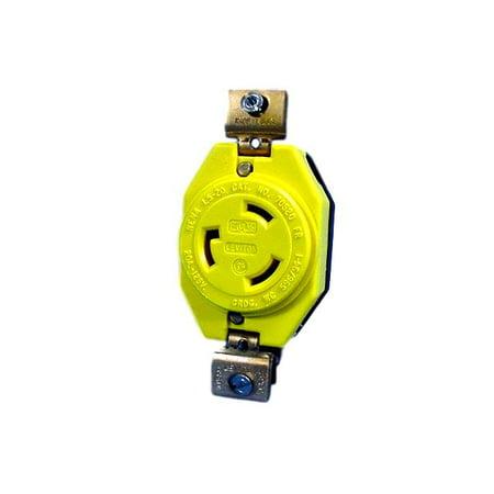 Leviton CORROSION RESISTANT L5-20 Twist Locking Receptacle Turn Lock Outlet NEMA L5-20R 20A 125V 23CM-10