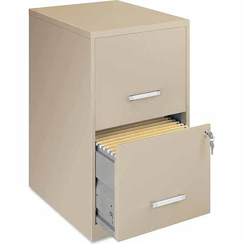 hirsh industries 4 drawer letter file cabinet in putty - walmart