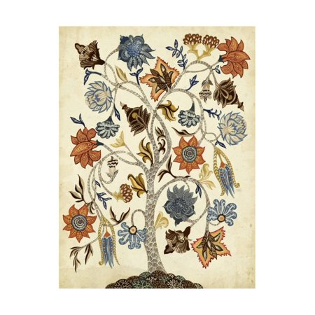 Vintage Tree of Life Print Wall Art By Naomi McCavitt ()